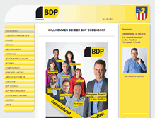 Tablet Preview of bdp-duebendorf.ch